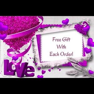 Free gift with each order!!
